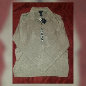 Dockers Collared Sweater Top